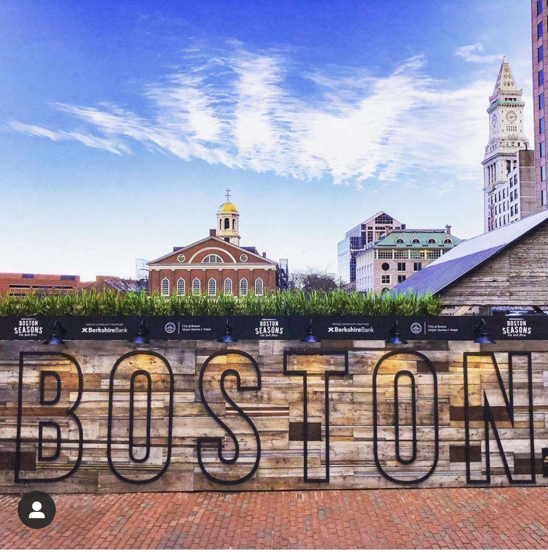 One Boston Day...